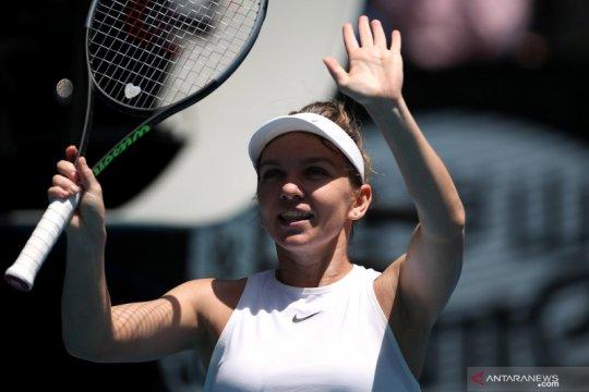 Halep amankan perempat final kelimanya di Italian Open