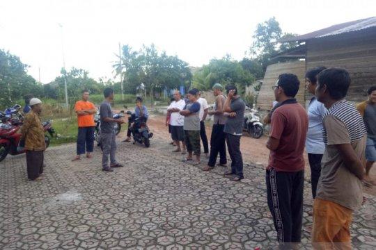 Warga empat kelurahan di Bangka Tengah tolak tambang timah ilegal
