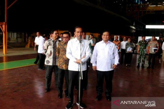 Jokowi : Pengiriman logistik turut terganggu  virus corona