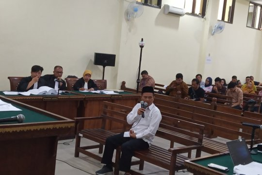 Terdakwa suap Lampung Utara akui berikan Rp350 juta kepada Kadis PUPR