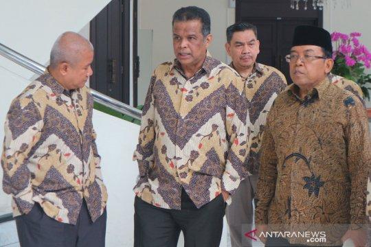 Forum Silaturahmi Asosiasi Travel Haji dan Umrah temui Wapres