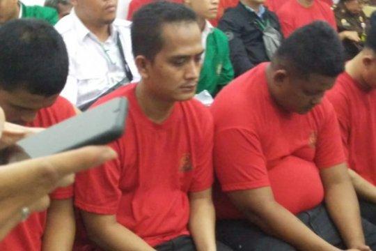 Empat terdakwa pencurian Rp1,6 miliar uang BPKAD Sumut diadili