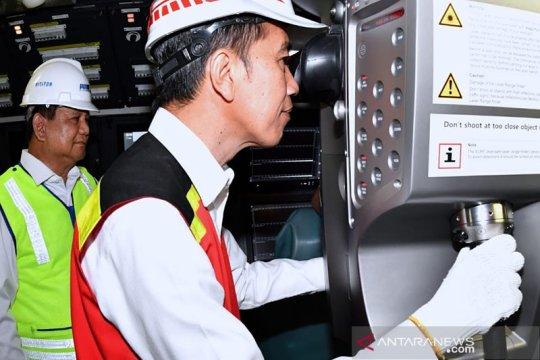 Presiden Jokowi: KRI Alugoro wujud kemandirian alutsista nasional