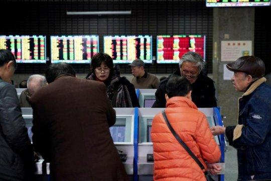 Saham China dibuka naik setelah catat keuntungan lima hari beruntun