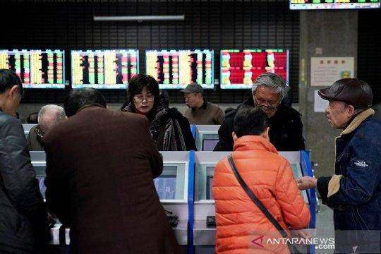 Saham China dibuka anjlok setelah libur panjang Imlek