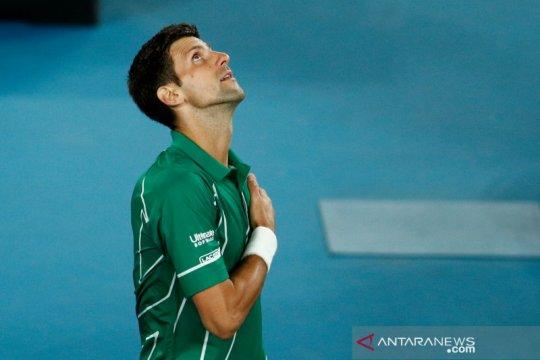 Djokovic sumbang satu juta euro ke Serbia untuk perangi virus corona
