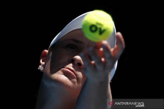 Barty bergabung dalam pertandingan tenis eksebisi di Adelaide