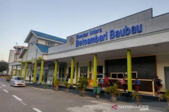 Bandara Betoambari Baubau belum miliki deteksi suhu tubuh