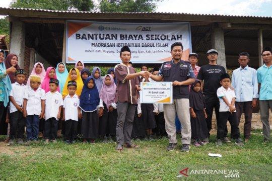 ACT NTB salurkan bantuan pembangunan madrasah