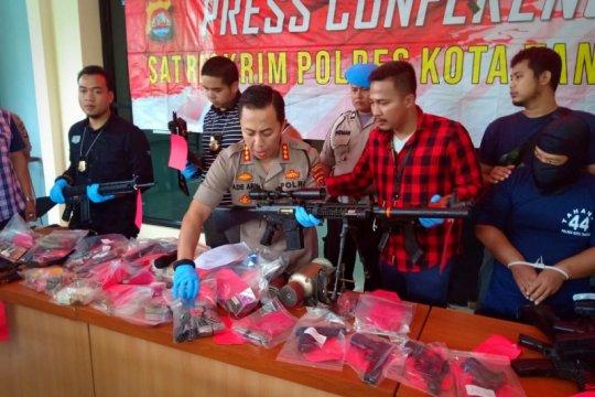 Polresta Tangerang amankan oknum karyawan BUMN perakit senpi Ilegal