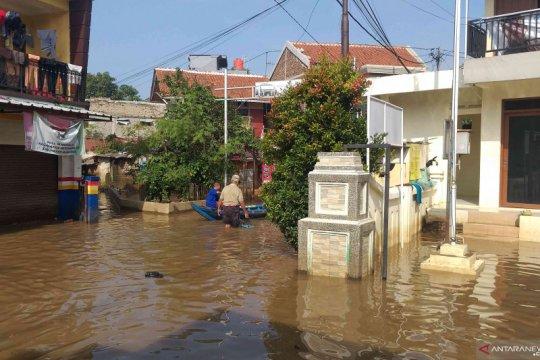 Enam kecamatan di Kabupaten Bandung masih terendam banjir