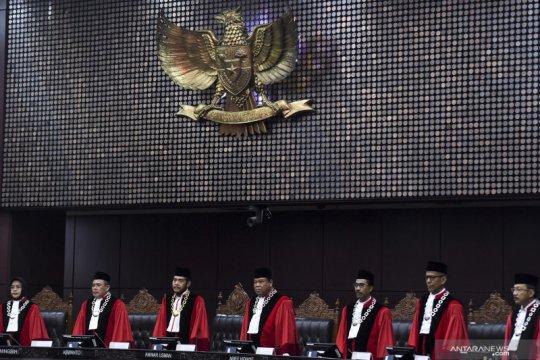 Hakim konstitusi jalani tes cepat COVID-19