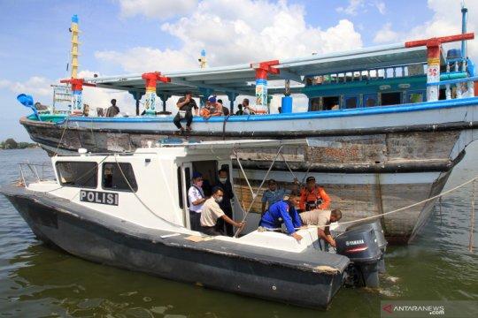Kapal WNA terdampar di Aceh Barat tak memiliki dokumen apa pun