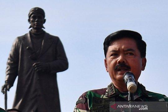 Mutasi perwira tinggi TNI, I Nyoman Gede gantikan Yudo Margono