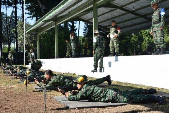 150 prajurit Akmil ikuti latihan menembak