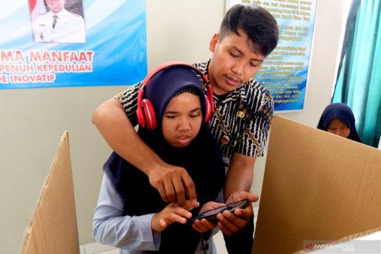 E-voting penyandang disabilitas netra
