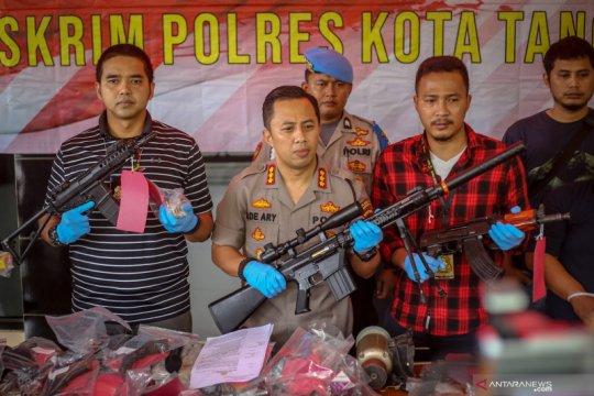 Kasus senjata api ilegal