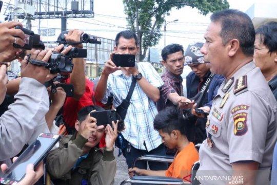 Polda Sumsel tangkap pemalak sopir truk lintas Sumatera