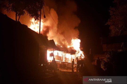 20 rumah di Senen Jakarta Pusat terbakar