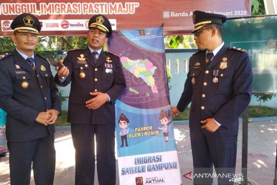 "Kemenkumham Aceh luncurkan program imigrasi ""saweu gampong"""