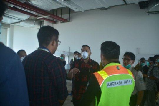 Antisipasi virus corona, DPRD Jambi cek Bandara Sultan Thaha