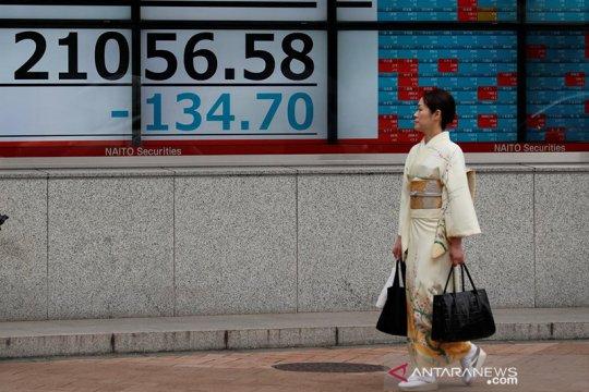 Saham Tokyo ditutup melemah, Indeks Nikkei turun 125,41 poin