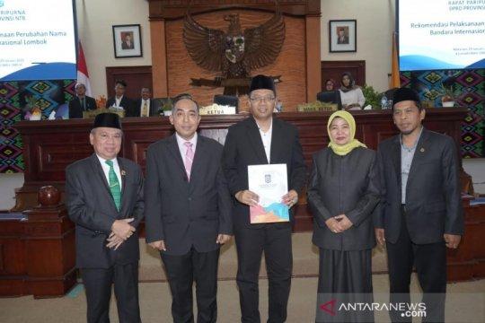 DPRD NTB resmi rekomendasikan perubahan BIL menjadi Bizam
