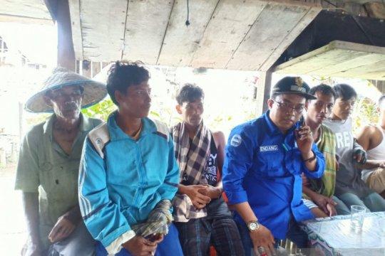 Lima orang nelayan hilang di Sasak Pasaman Barat ditemukan selamat