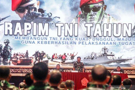 Rapat pimpinan TNI 2020