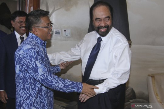 Kunjungan balasan Sohibul Iman ke Partai Nasdem