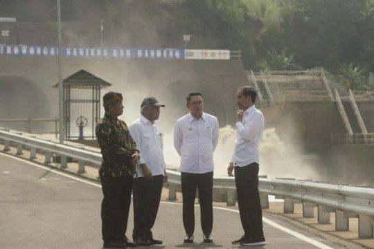 Presiden harap proyek penanganan banjir hulu Citarum beres tepat waktu