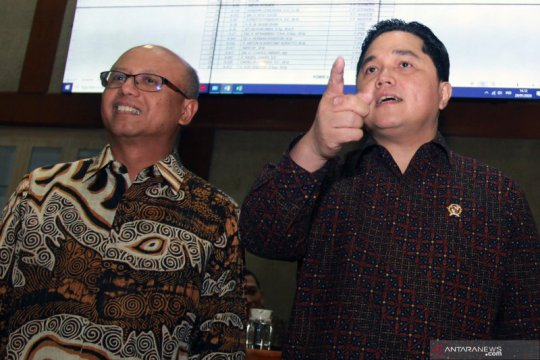 Raker Panja Jiwasraya dengan Menteri BUMN