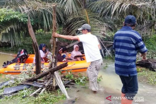BPBD Agam evakuasi 53 warga korban banjir