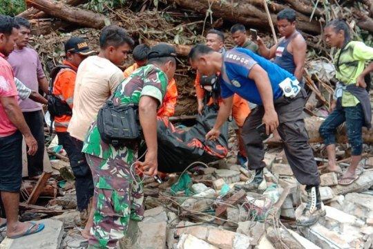 Korban tewas akibat banjir Tapteng bertambah jadi 7 orang