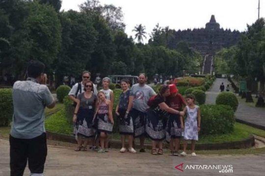 Wisman China tetap ke Borobudur meskipun marak virus corona