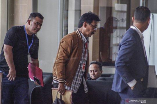 Bupati Solok Selatan Muzni Zakaria diperiksa KPK