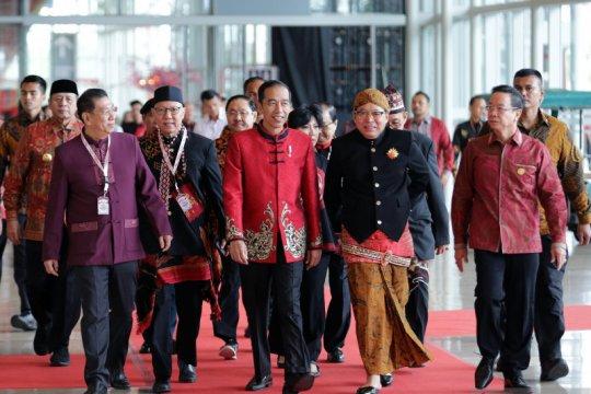 Presiden Jokowi hadiri perayaan Imlek nasional 2020