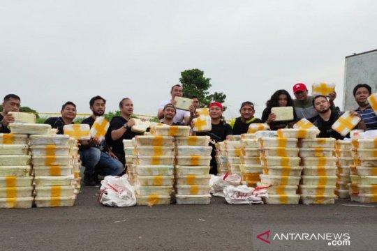 Polda Metro ungkap pengiriman 288 kilogram sabu di Serpong