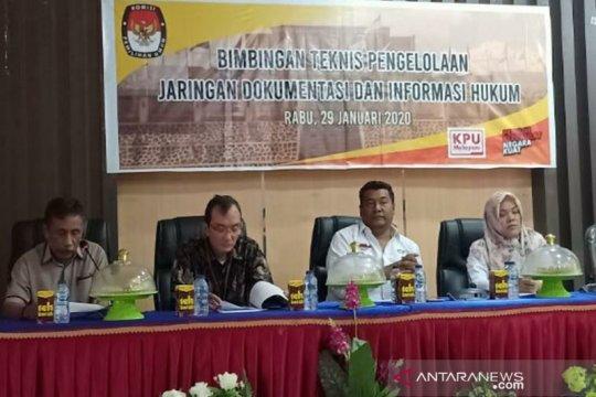 KPU Sultra memaparkan sengketa pilkada dan pemilu empat tahun terakhir