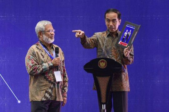 Presiden Jokowi minta BUMN tambah dukungan riset anak bangsa