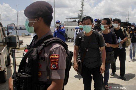Gagal mencapai Australia, WNA China terdampar di NTT
