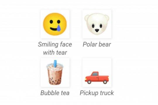 65 emoji baru, boba sampai beruang kutub