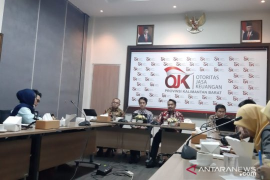 OJK paparkan kondisi industri keuangan Kalbar 2019 relatif baik