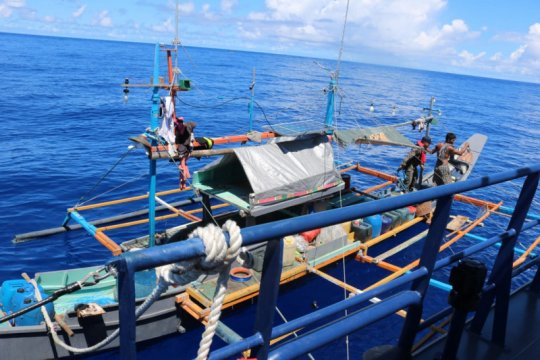 KKP kembali ringkus kapal asing ilegal berbendera Filipina