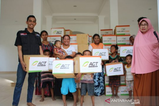 ACT salurkan ratusan paket sandang untuk korban banjir Donggala