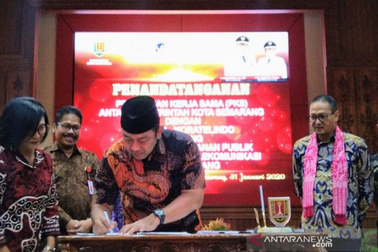 Pemkot Semarang-Moratelindo bekerja sama bangun jaringan serat optik