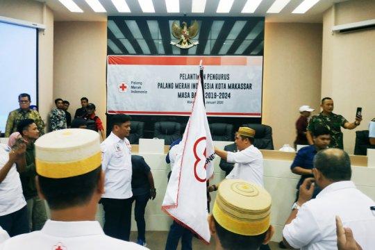 Empat elemen digandeng PMI Makassar bantu penanganan kemanusiaan