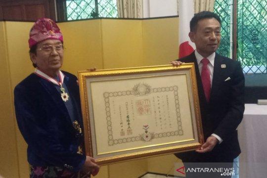 Tokoh seniman Prof Bandem raih bintang jasa dari Kaisar Jepang
