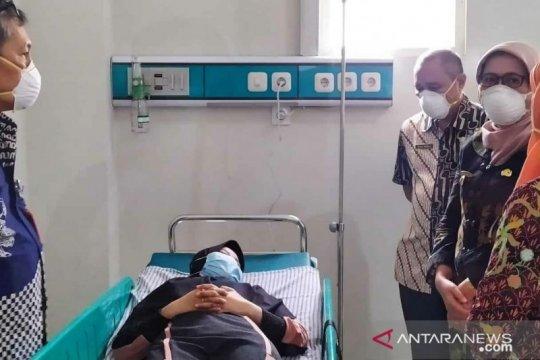 Satu mahasiswi pulang dari China jalani pemeriksaan di RSUD Hariyoto