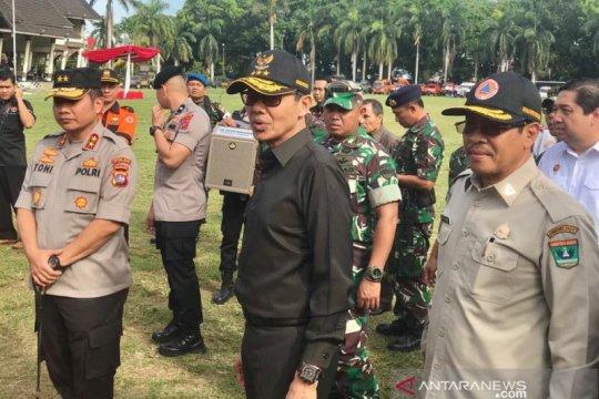 Gubernur Sumbar pantau kesiapsiagaan personel antisipasi bencana